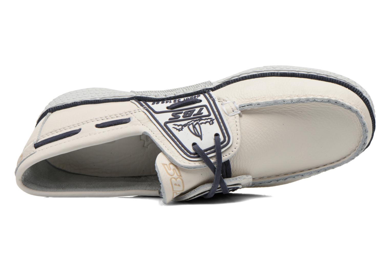 Chaussures à lacets TBS Globek Blanc vue gauche