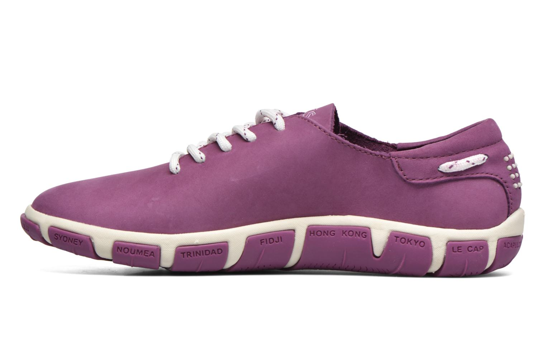 Chaussures à lacets TBS Jazaru Violet vue face