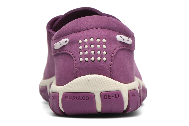 Chaussures à lacets TBS Jazaru Violet vue droite