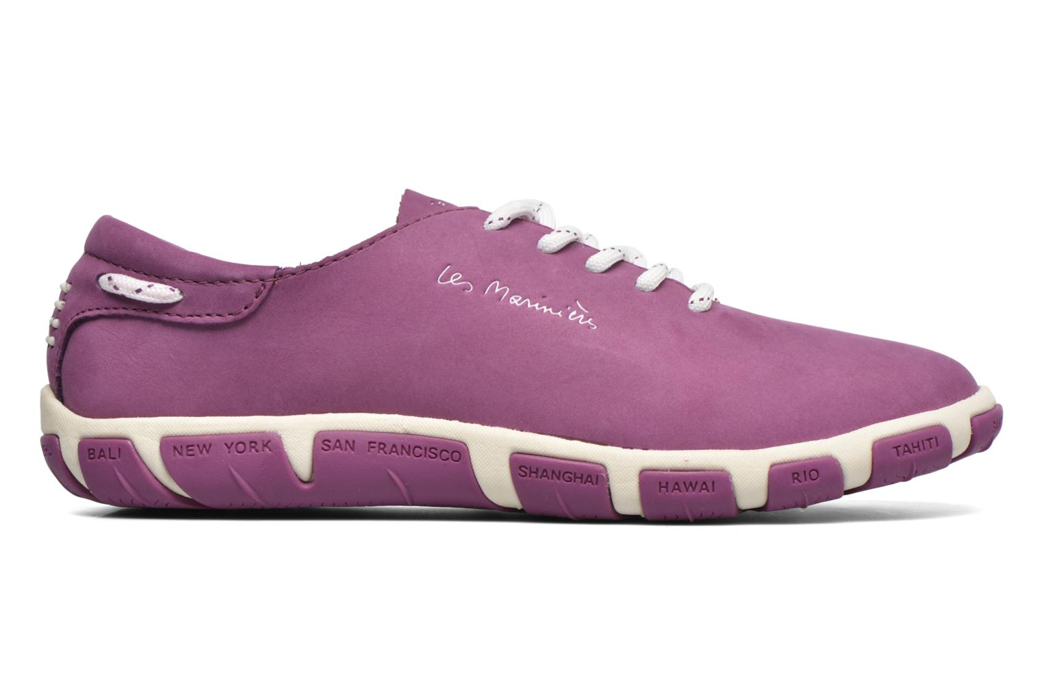 Lace-up shoes TBS Jazaru Purple back view