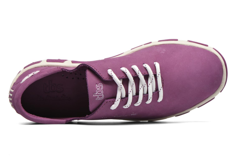 Chaussures à lacets TBS Jazaru Violet vue gauche
