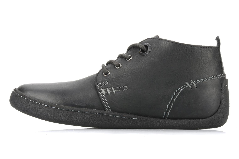 Chaussures à lacets Kickers Indiana Noir vue face