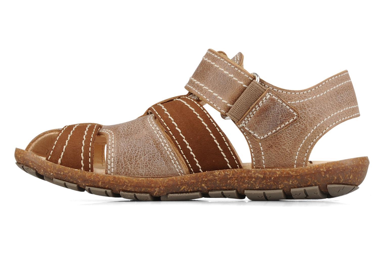 Sandali e scarpe aperte Primigi Torquato Marrone immagine frontale