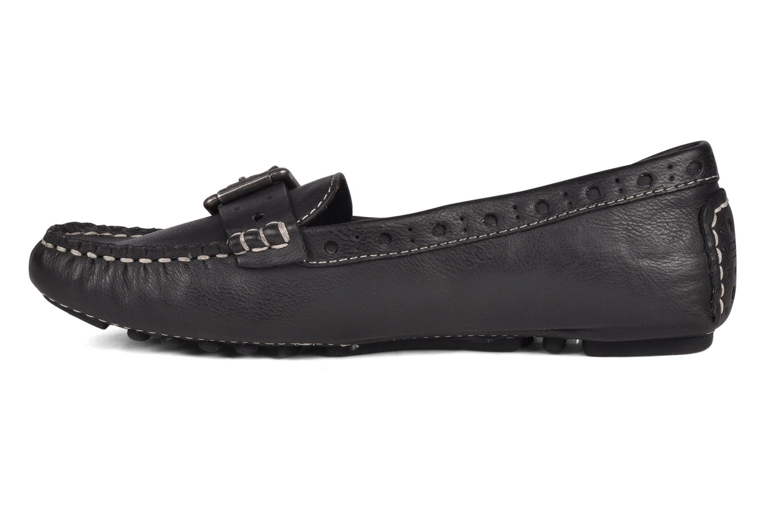 Mocassini Esprit Sheena perf loafer Nero immagine frontale