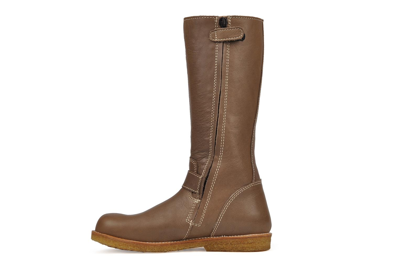 Boots & wellies Bisgaard 80572 Brown front view