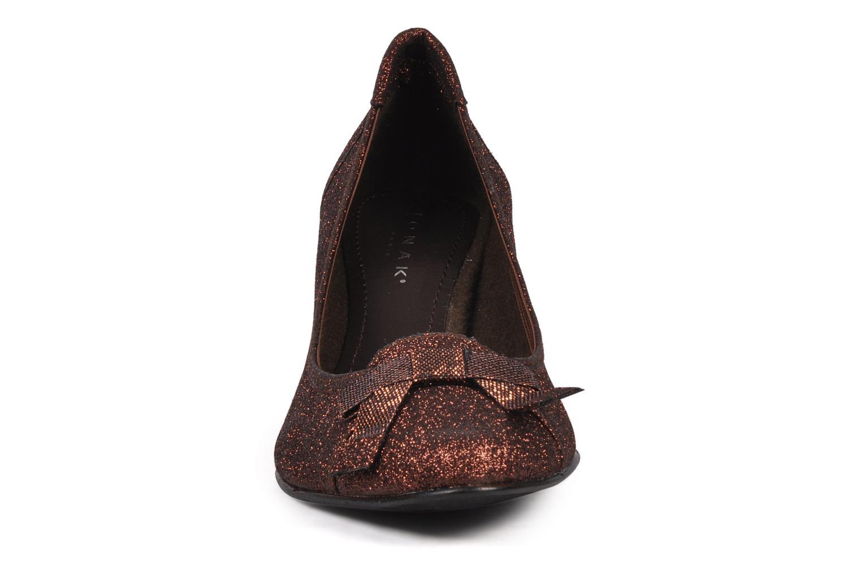 Escarpins Jonak Rafaelia Or et bronze vue portées chaussures