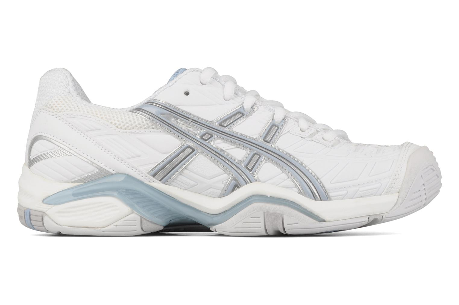 Sport shoes Asics Lady gel challenger 8 White back view