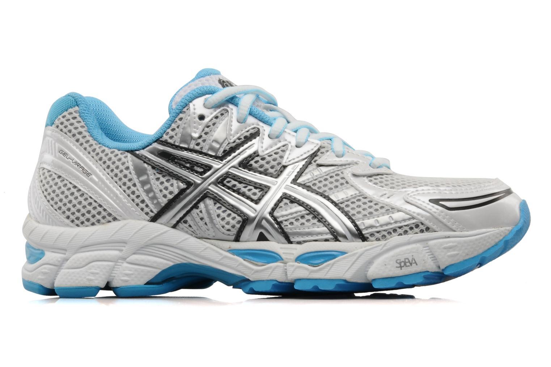 Chaussures de sport Asics Lady gel virage 6 Blanc vue derrière