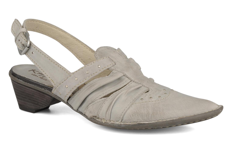 Sandales et nu-pieds Khrio Siane Gris vue détail/paire