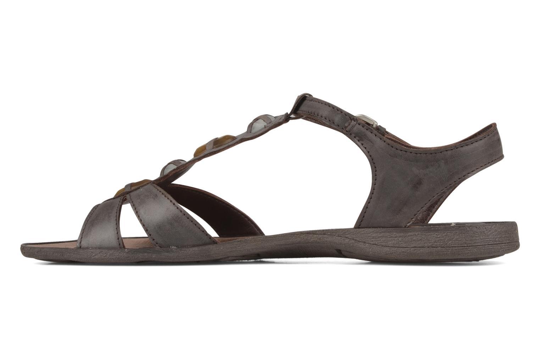 Sandales et nu-pieds Khrio Shelby Marron vue face