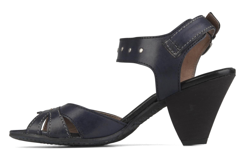Sandales et nu-pieds Khrio Cherley Noir vue face