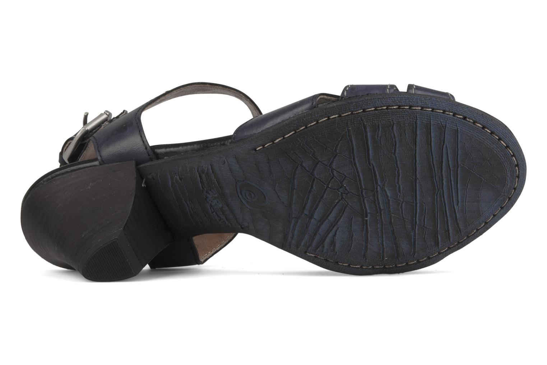 Sandales et nu-pieds Khrio Cherley Noir vue haut