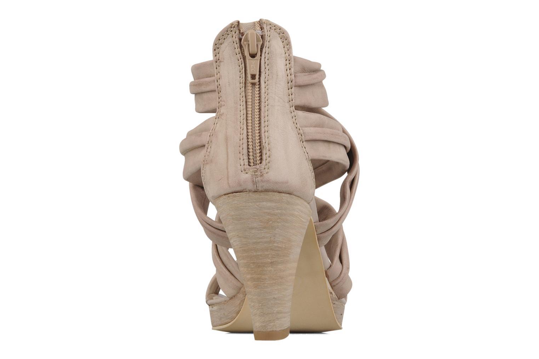 Sandales et nu-pieds Khrio Flana Beige vue droite