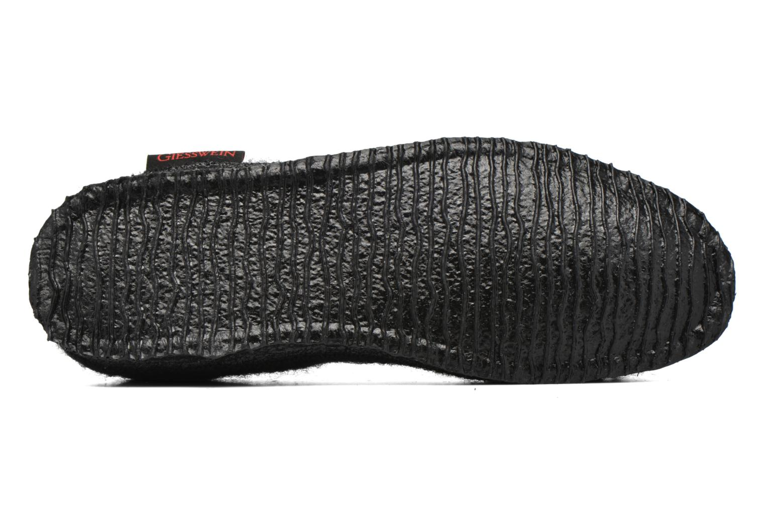 Slippers Giesswein Laubach Black view from above