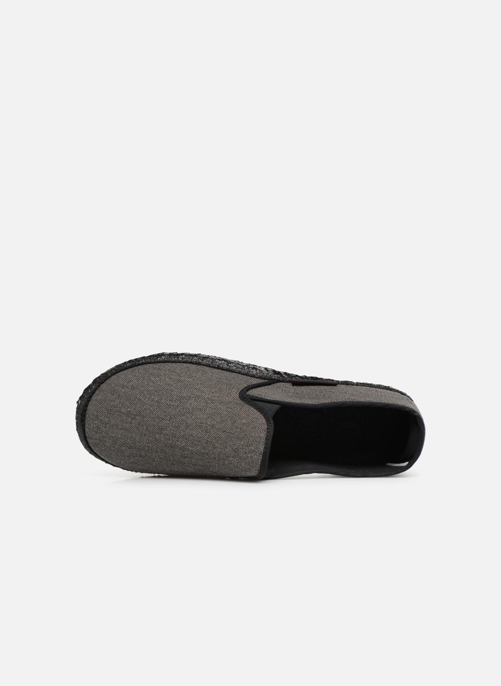 Pantofole Giesswein Berlin Grigio immagine sinistra