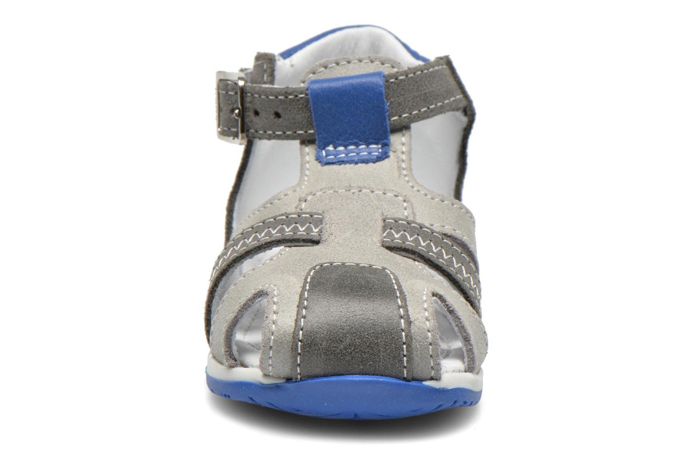Bottines et boots Bopy Zilo Gris vue portées chaussures