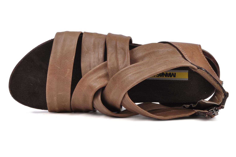 Sandali e scarpe aperte Manas Lazos Grigio immagine sinistra