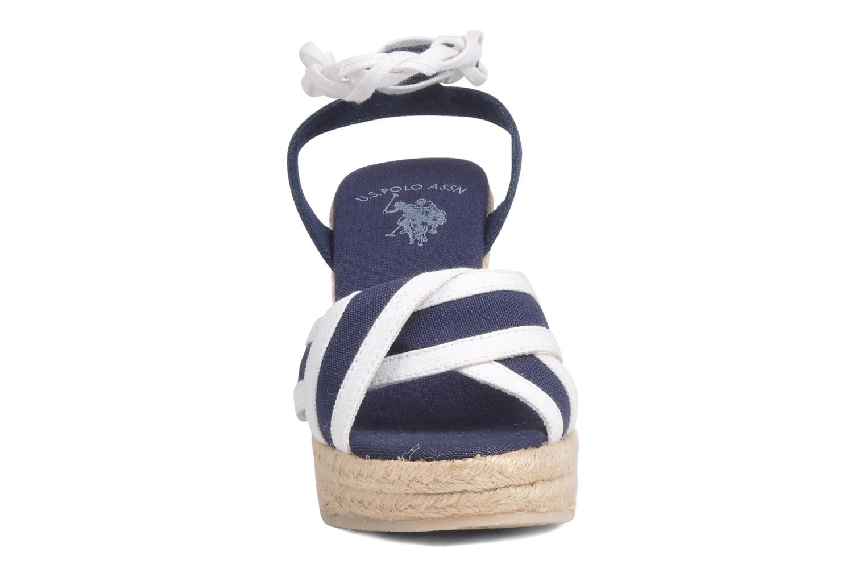 Sandales et nu-pieds U.S Polo Assn. Alena 4175s1 Bleu vue portées chaussures