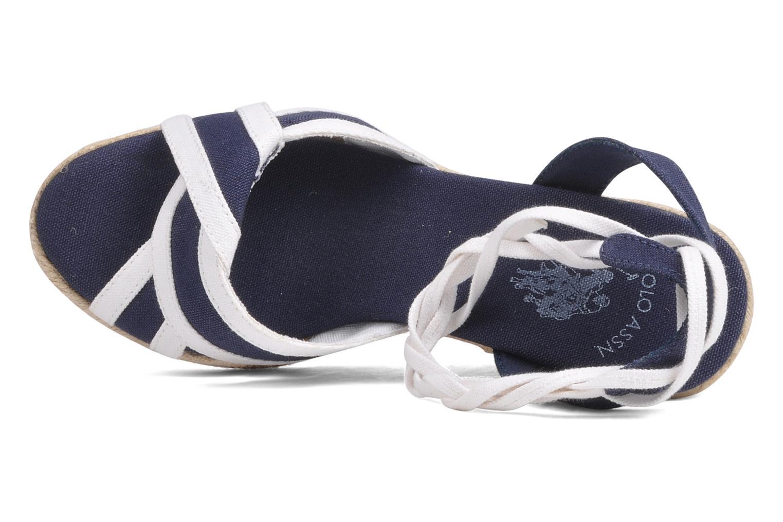 Sandales et nu-pieds U.S Polo Assn. Alena 4175s1 Bleu vue gauche