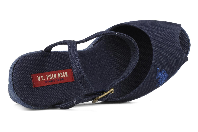 Sandales et nu-pieds U.S Polo Assn. Alena 4103s1 Bleu vue gauche