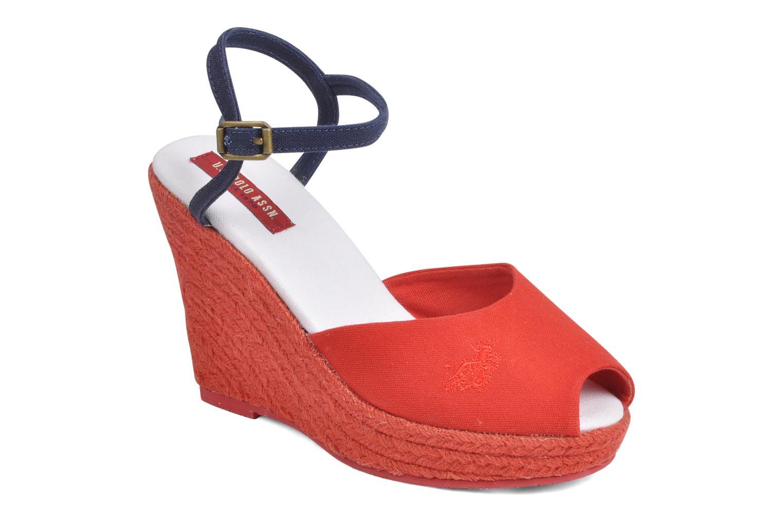 Sandales et nu-pieds U.S Polo Assn. Alena 4103s1 Rouge vue détail/paire