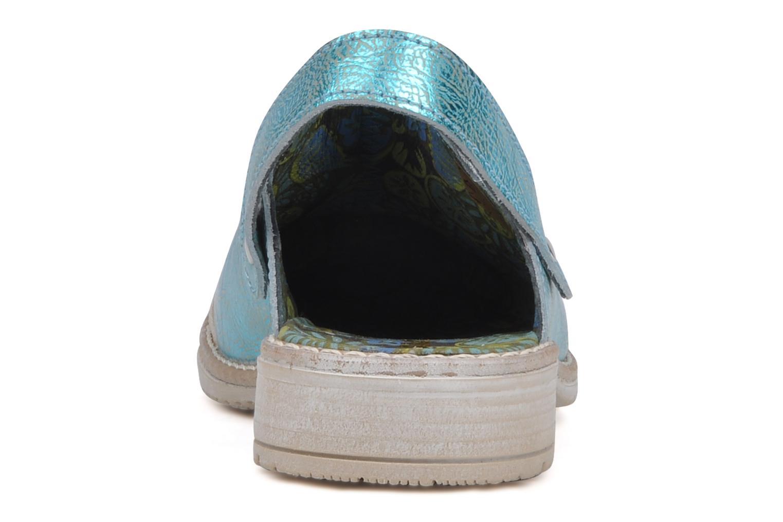 Sandales et nu-pieds Catimini Claire Bleu vue droite