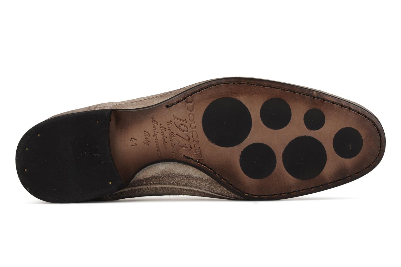 Scarpe con lacci Doucal's Umbria Beige immagine dall'alto