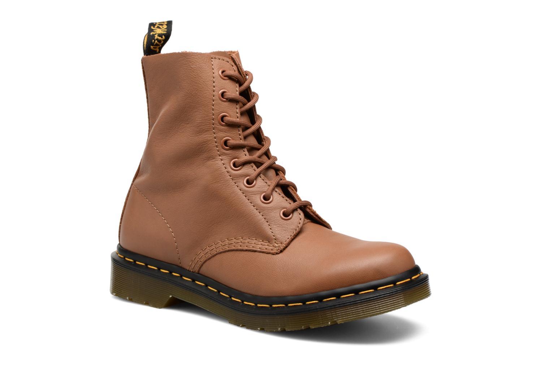Bottines et boots Dr. Martens PASCAL M Marron vue détail/paire