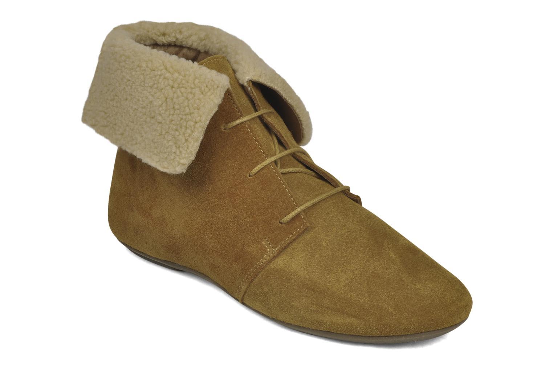 Boots en enkellaarsjes Jonak Moumi Bruin detail