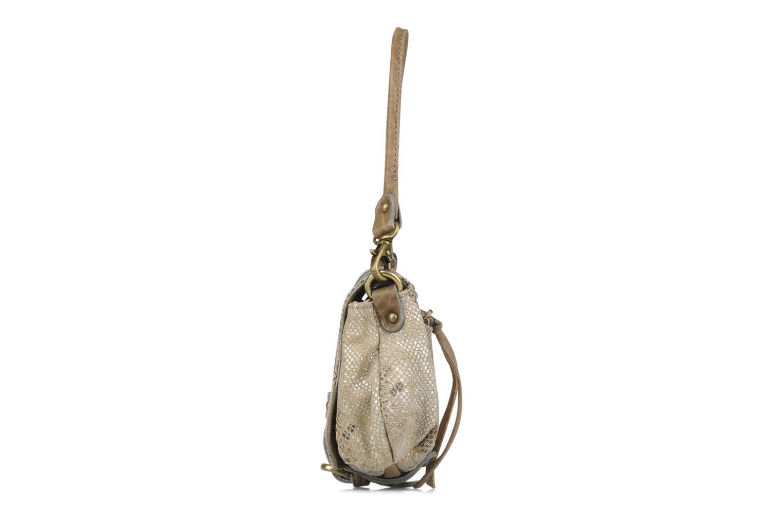 Handtaschen Abaco Beauty beige schuhe getragen