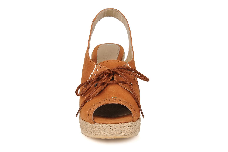 Sandales et nu-pieds Pare Gabia Climone Marron vue portées chaussures