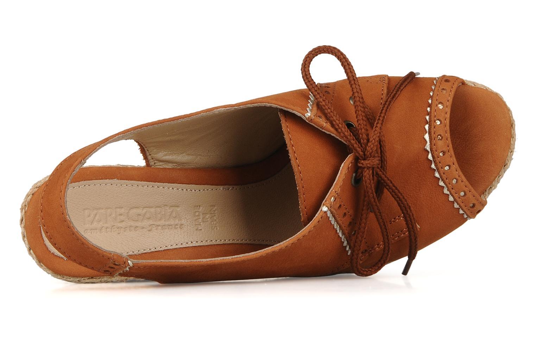 Sandales et nu-pieds Pare Gabia Climone Marron vue gauche