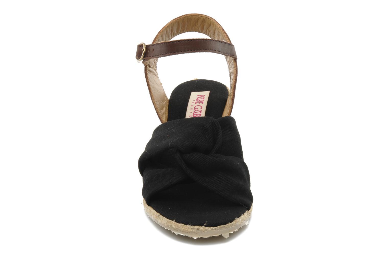 Sandalen Pare Gabia Sorela schwarz schuhe getragen