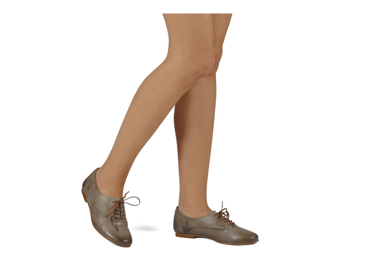 Scarpe con lacci Addict-Initial Zota Marrone immagine dal basso