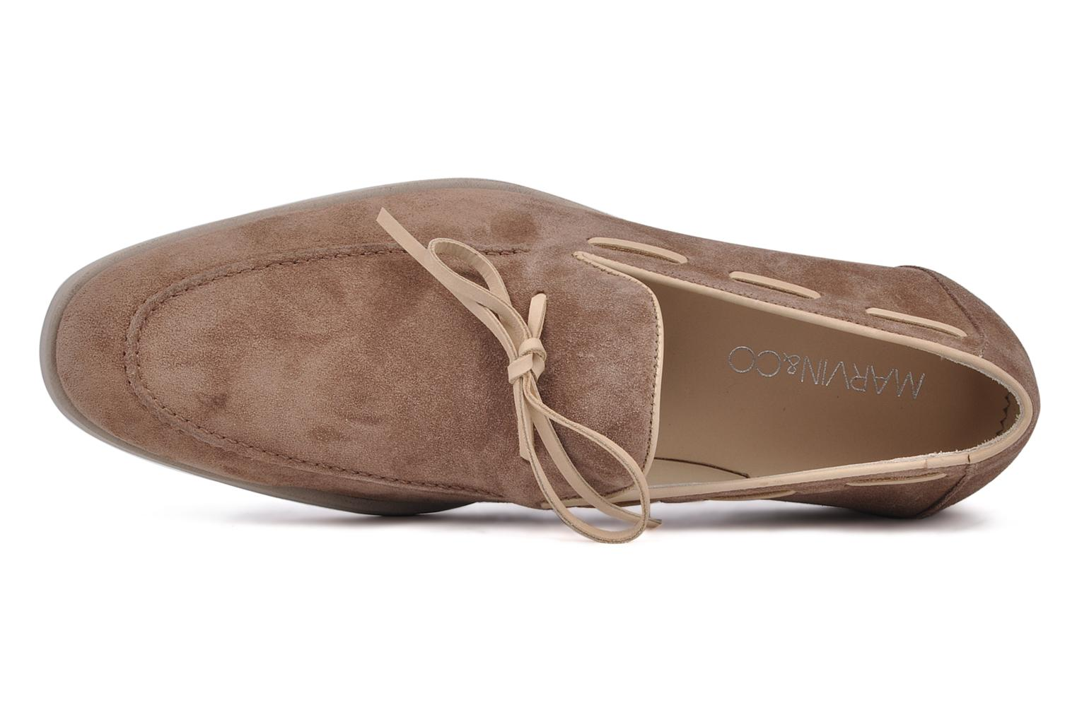 Slipper Marvin&Co Marlon beige ansicht von links