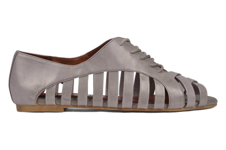 Zapatos con cordones Jeffrey Campbell Hoyt Gris vistra trasera