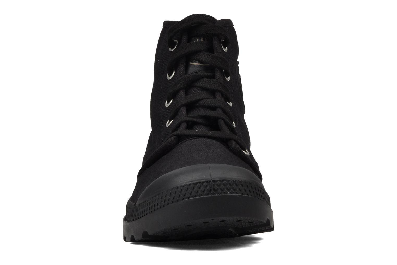 Bottines et boots Palladium Us pampa hi m Noir vue portées chaussures