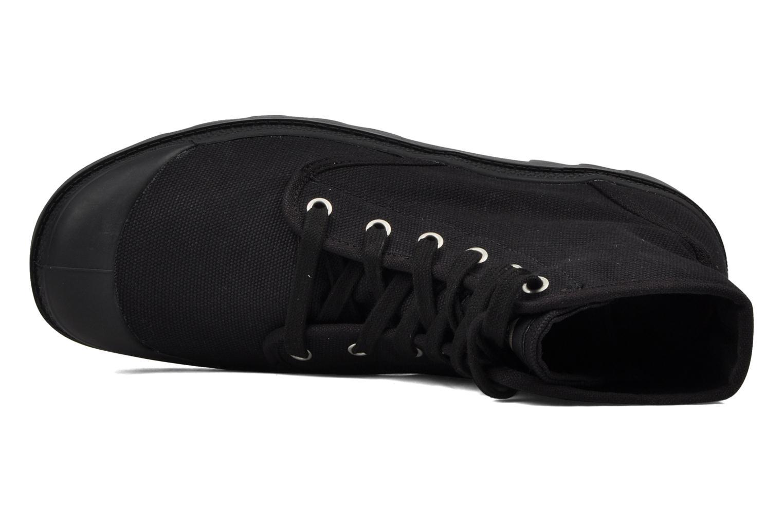 Bottines et boots Palladium Us pampa hi m Noir vue gauche