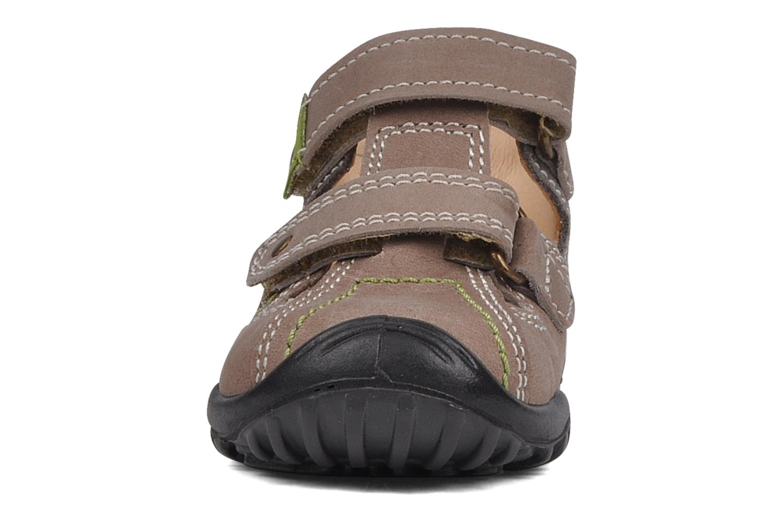 Sandales et nu-pieds Rose & Martin Rock Marron vue portées chaussures
