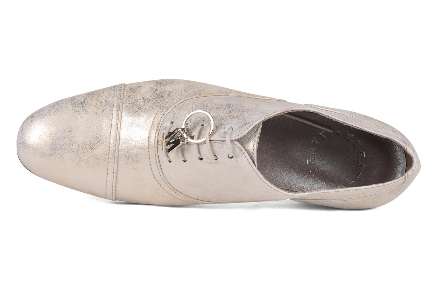 Lace-up shoes Muratti Hvar Beige view from the left