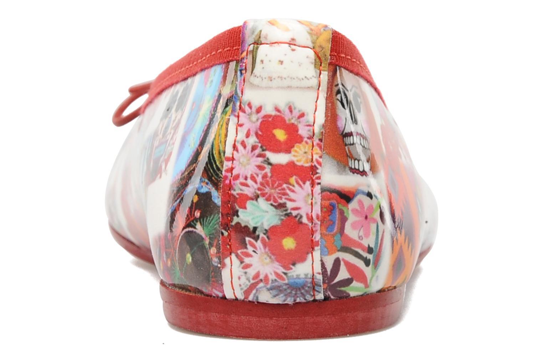 Ballerines Coco et abricot Donalia Multicolore vue droite