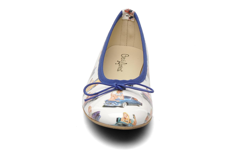 Ballet pumps Coco et abricot Donalia Multicolor model view