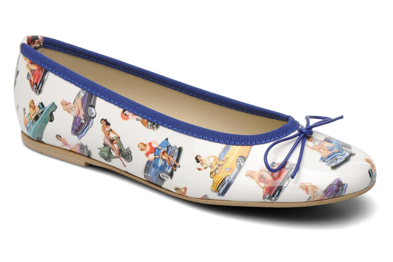 Ballerina's Coco et abricot Donalia Multicolor detail