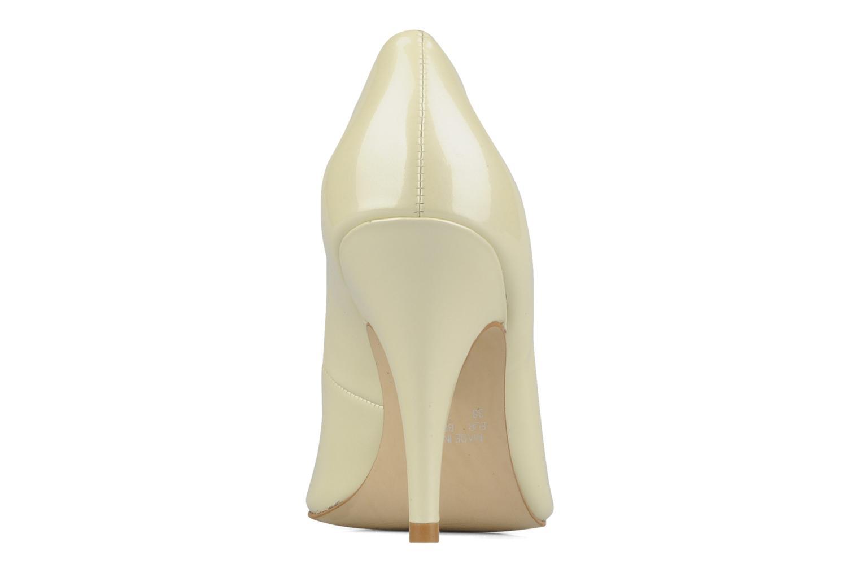 Louanne Patent metalic ivory