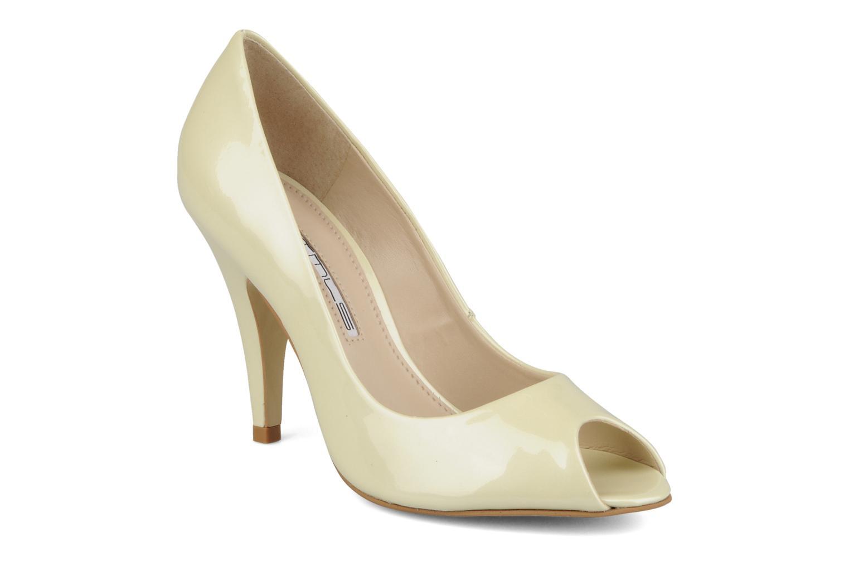 Høje hæle Studio TMLS Louanne Beige detaljeret billede af skoene