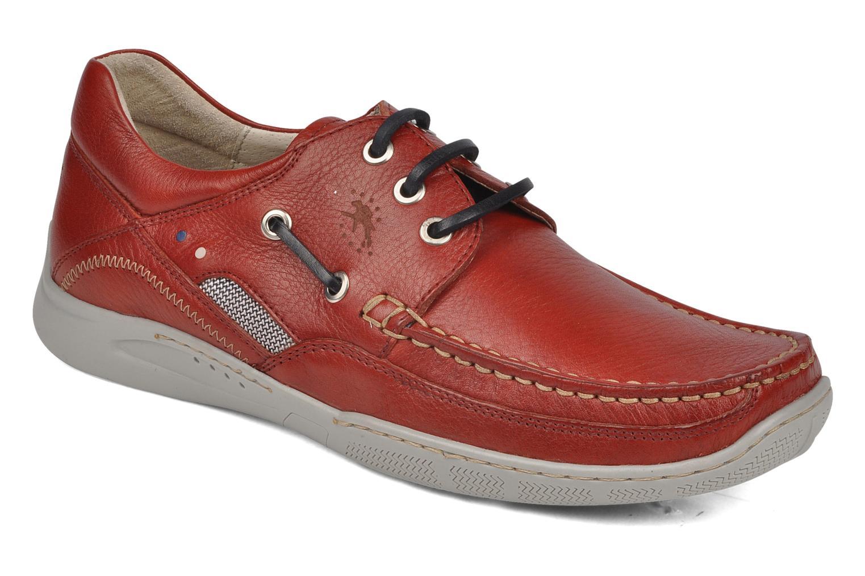 Zapatos con cordones Fluchos Desafio 7175 Rojo vista de detalle / par