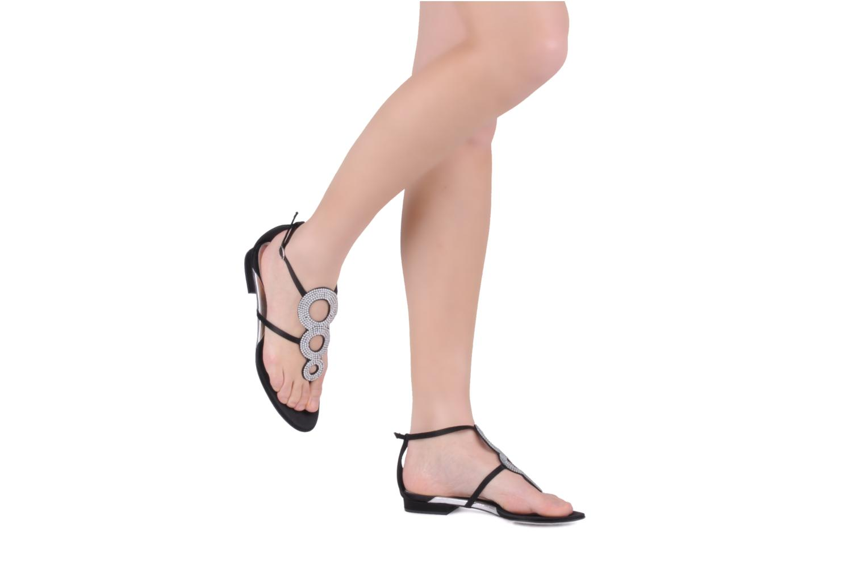 Sandales et nu-pieds Azzaro Women Dance Noir vue bas / vue portée sac