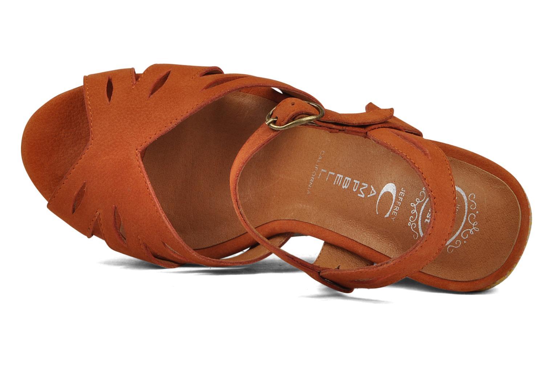 Sandales et nu-pieds Jeffrey Campbell Peaches Marron vue gauche