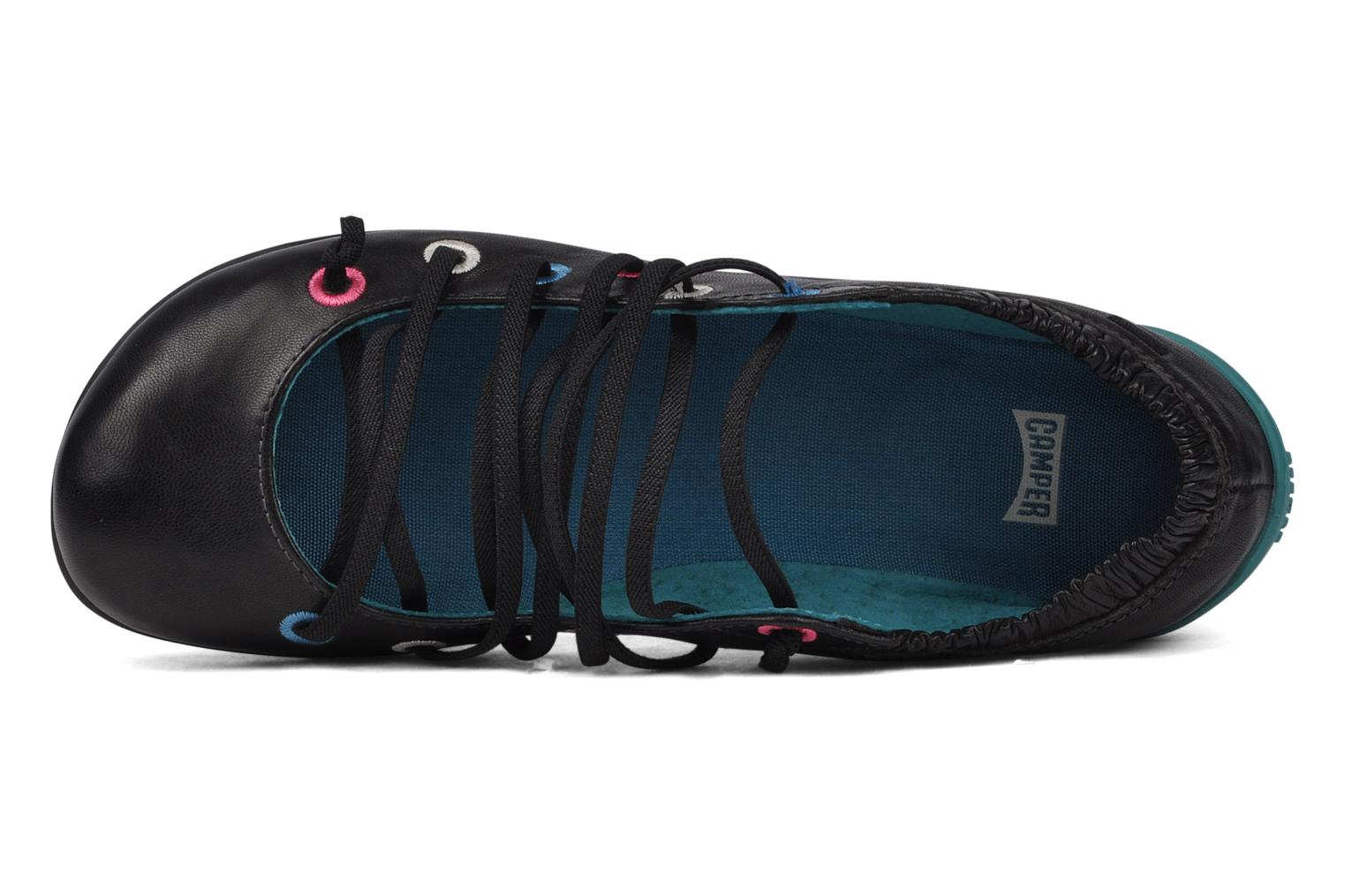 Ballet pumps Camper Tws 21468 Black view from the left