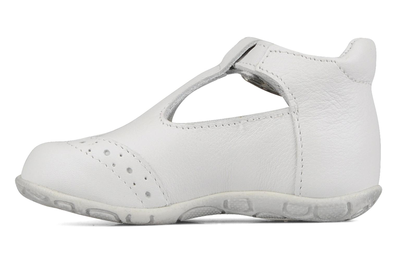 Ankle boots GBB Lea White front view